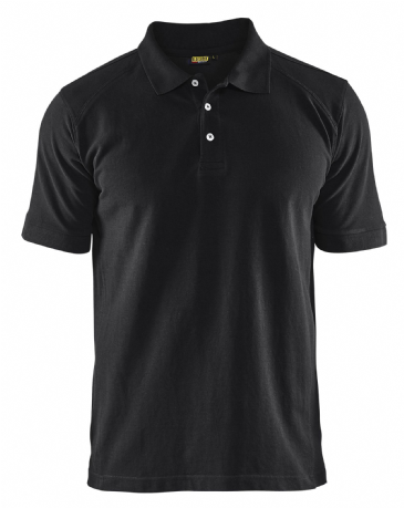 Blaklader 3324 Pique 2 Colour Polo Shirt (Black)